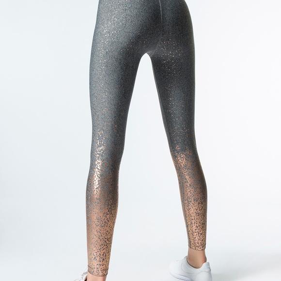 8052df6245cdb Beyond Yoga Pants - Beyond Yoga alloy ombré high waisted midi legging